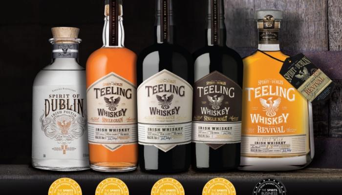 MASTERCLASS destilarne irskega viskija TEELING sConorjem Sweeneyem,vodjo prodaje za Evropo