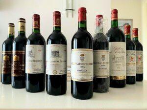 Edinstvena degustacija arhivskih vin iz Bordeauxa